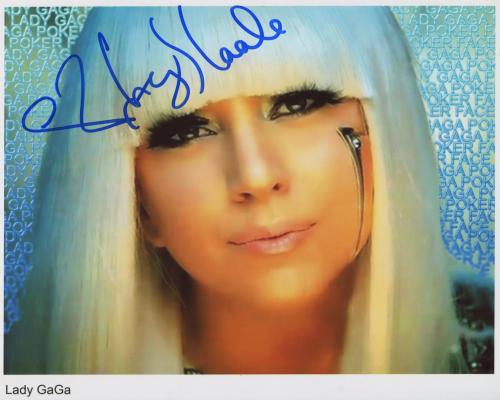 lady gaga autograph - photo #30